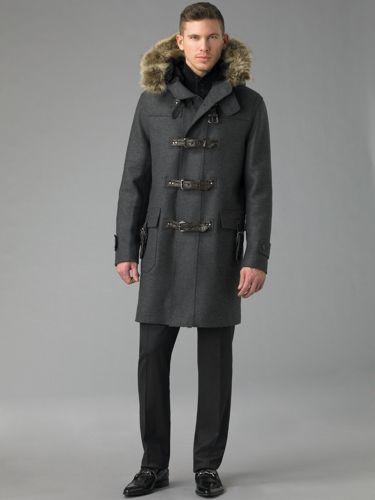 Dolce & Gabbana Duffle Toggle Coat